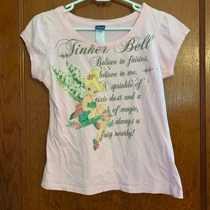 Disney Small (6/8) Tinker bell T-Shirt